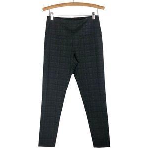 Alexander Jordan black grey plaid slim leggings